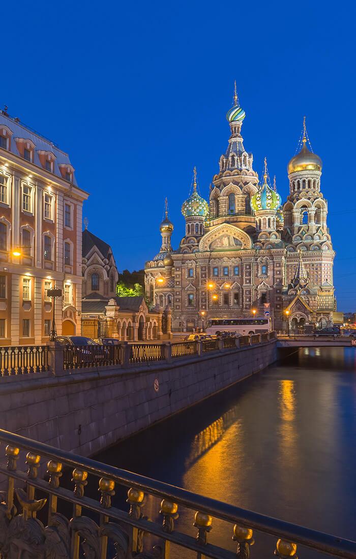 Sankt Petersburg samolotem wycieczka